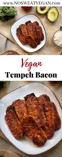 Vegan Tempeh Bacon Pin