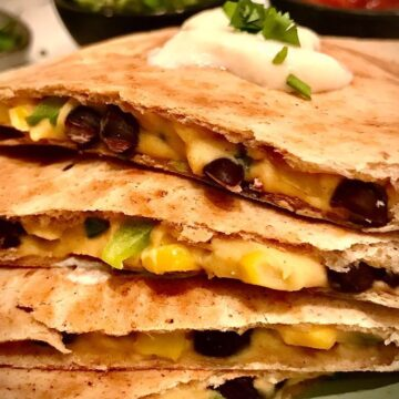 Vegan quesadilla