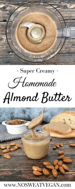 homemade almond butter pin