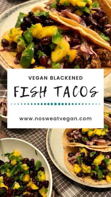 Vegan Fish Tacos with tofu