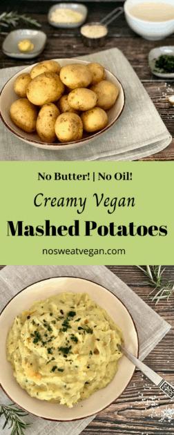 vegan mashed potatoes pin