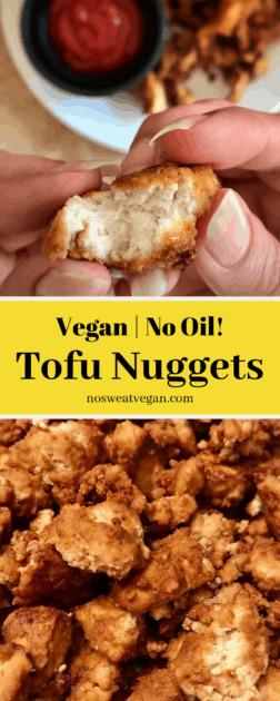 vegan tofu nuggets