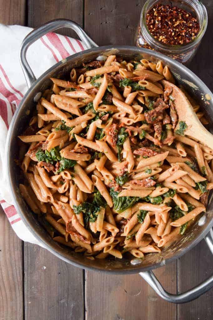 Vegan pasta recipes.