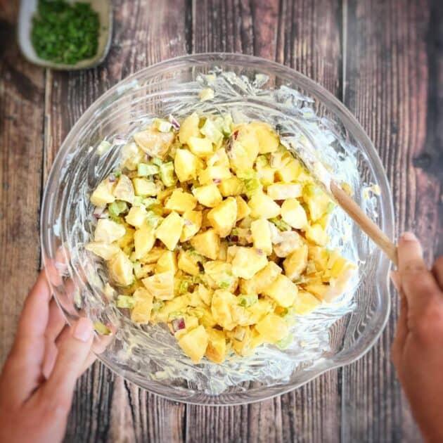 oil free vegan potato salad
