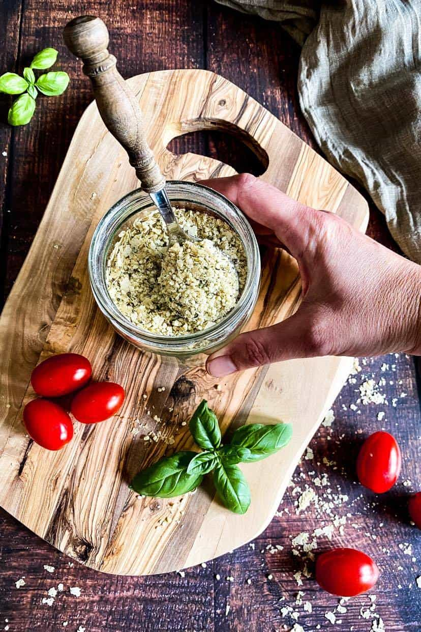 Vegan Parmesan Cheese Substitute (nut-free)