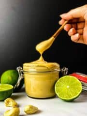 vegan chipotle mayo with limes