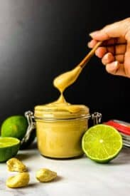 vegan chipotle mayo with limes