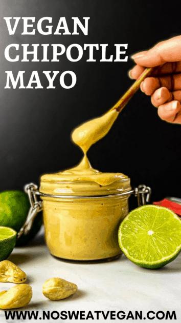vegan chipotle mayo pin