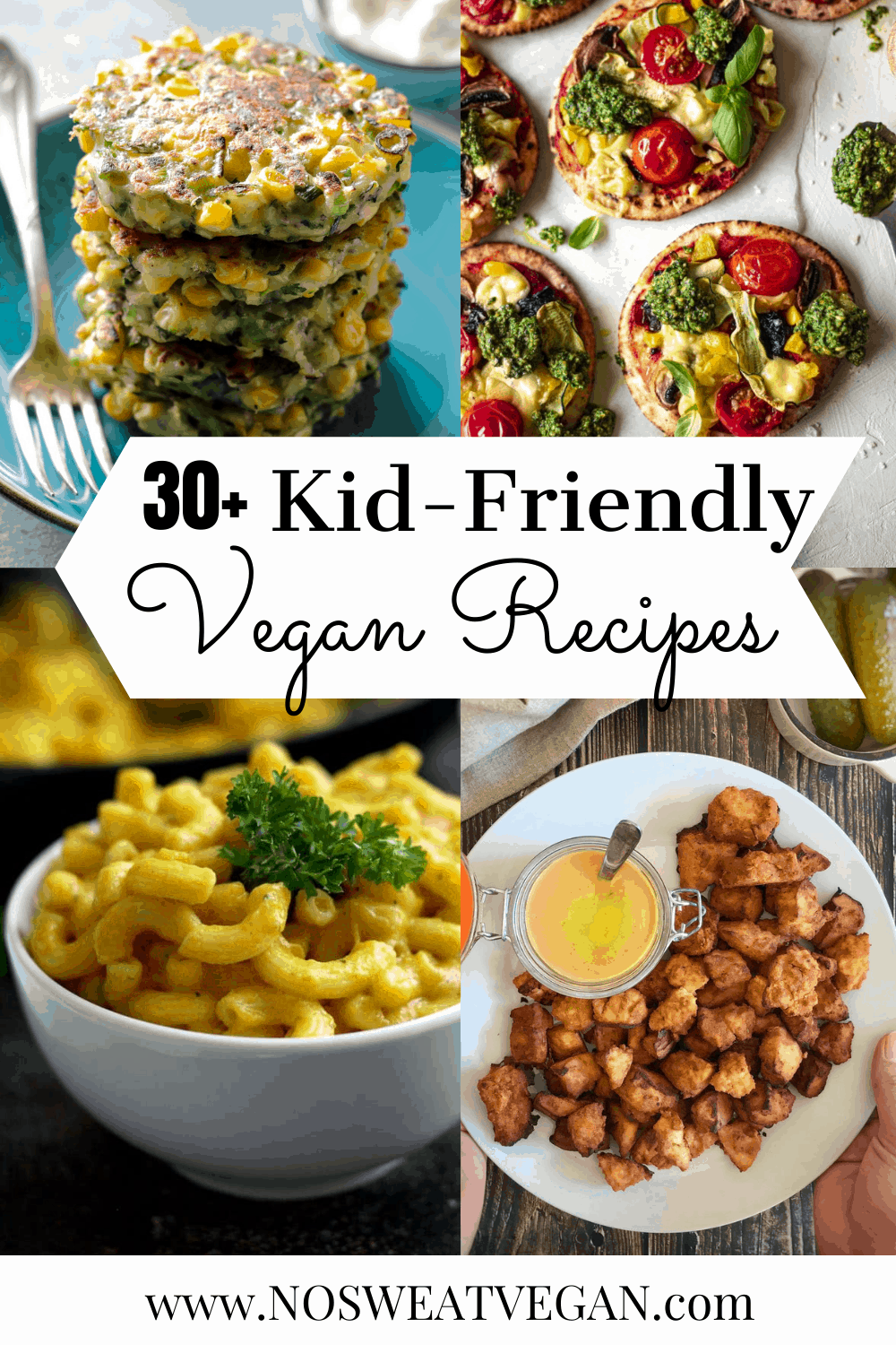 Vegan Recipes for Kids (breakfast, lunch, dinner, and snacks)
