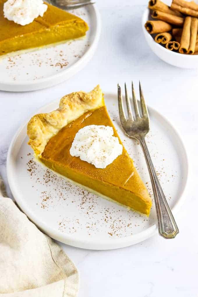 easy vegan pumpkin pie