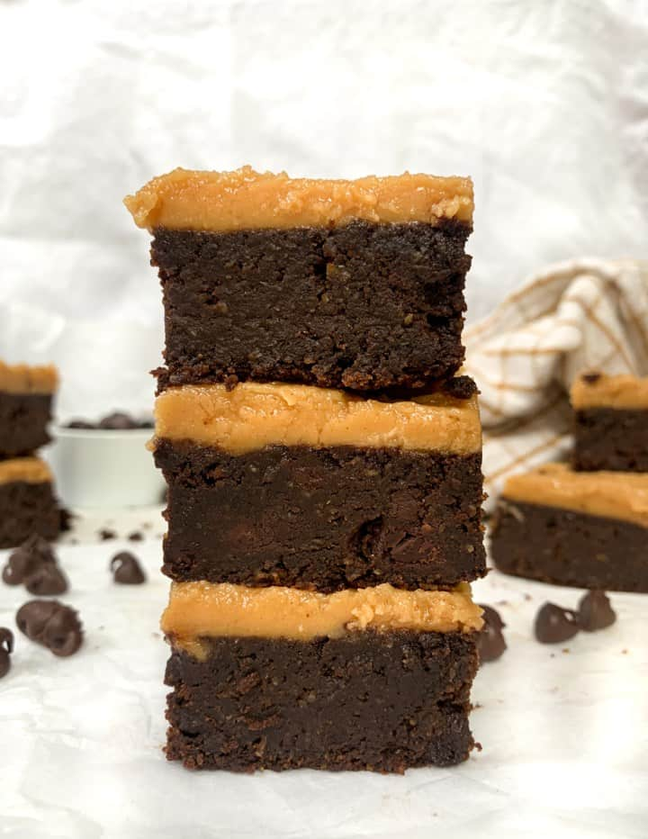 flourless vegan pumpkin brownies