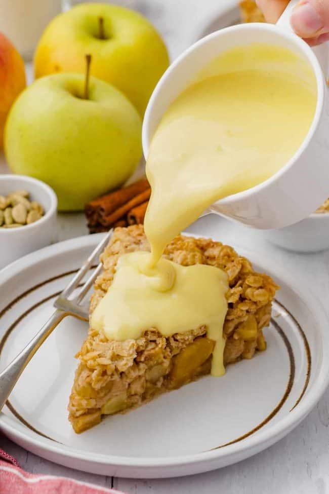 Vegan Swedish Apple Pie