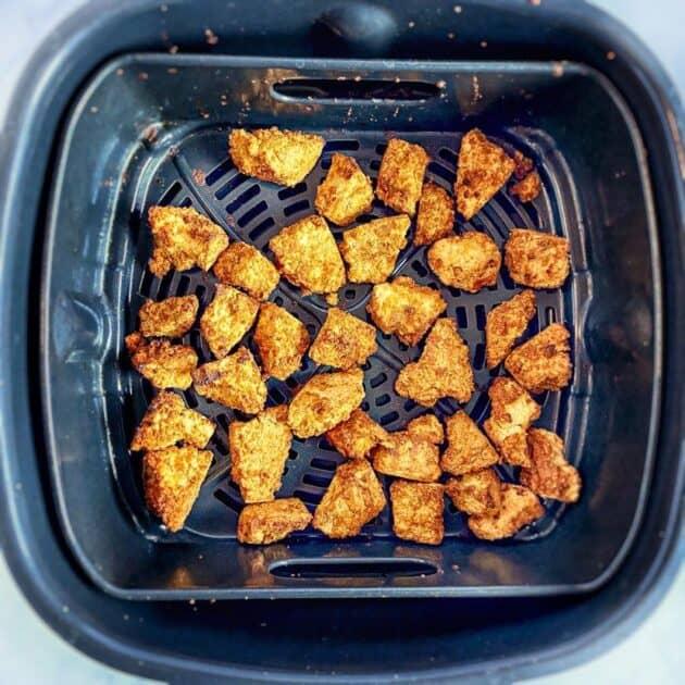 air fryer tofu nuggets