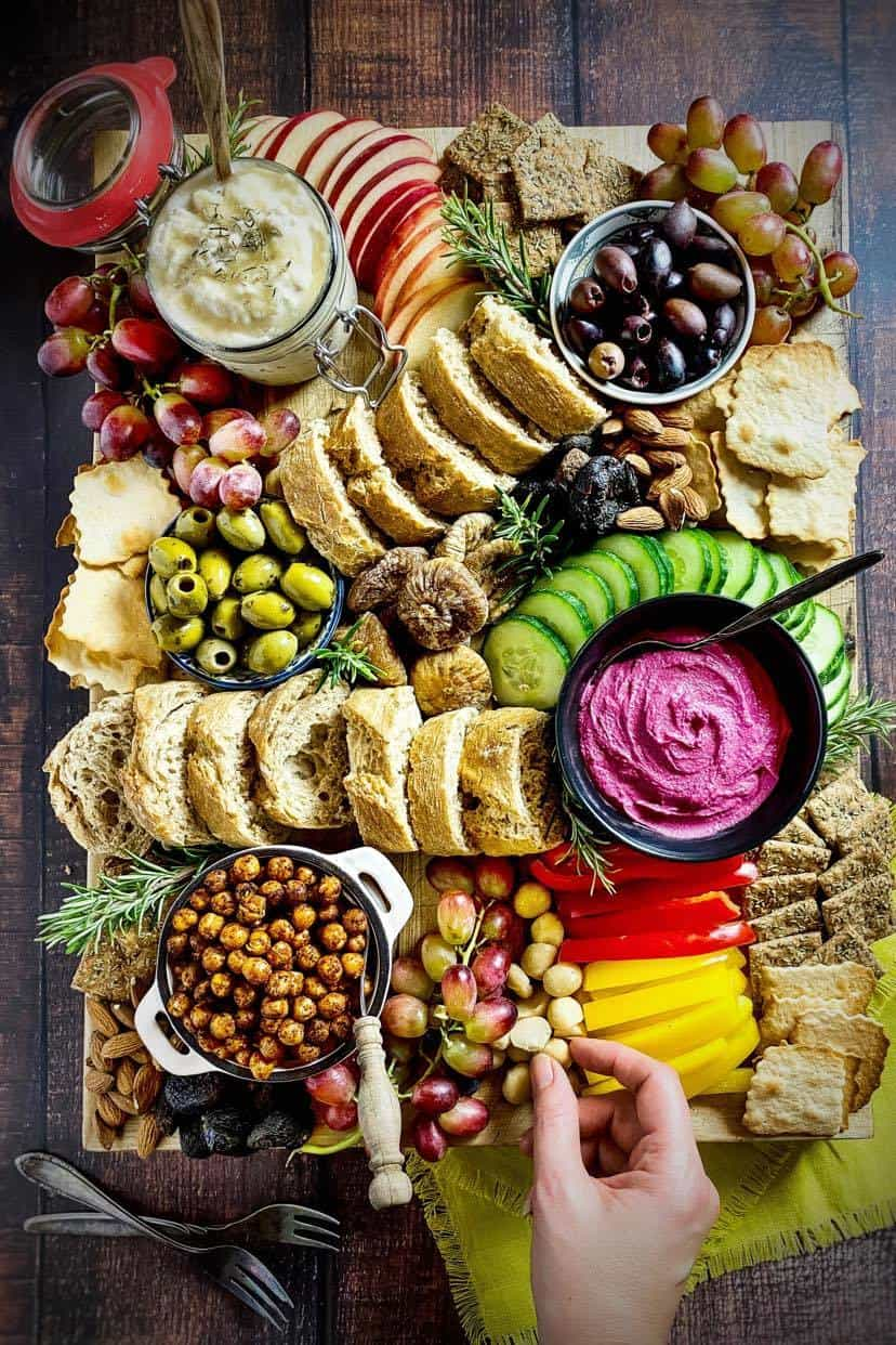 vegan charcuterie board recipe
