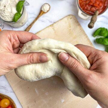 vegan pizza dough
