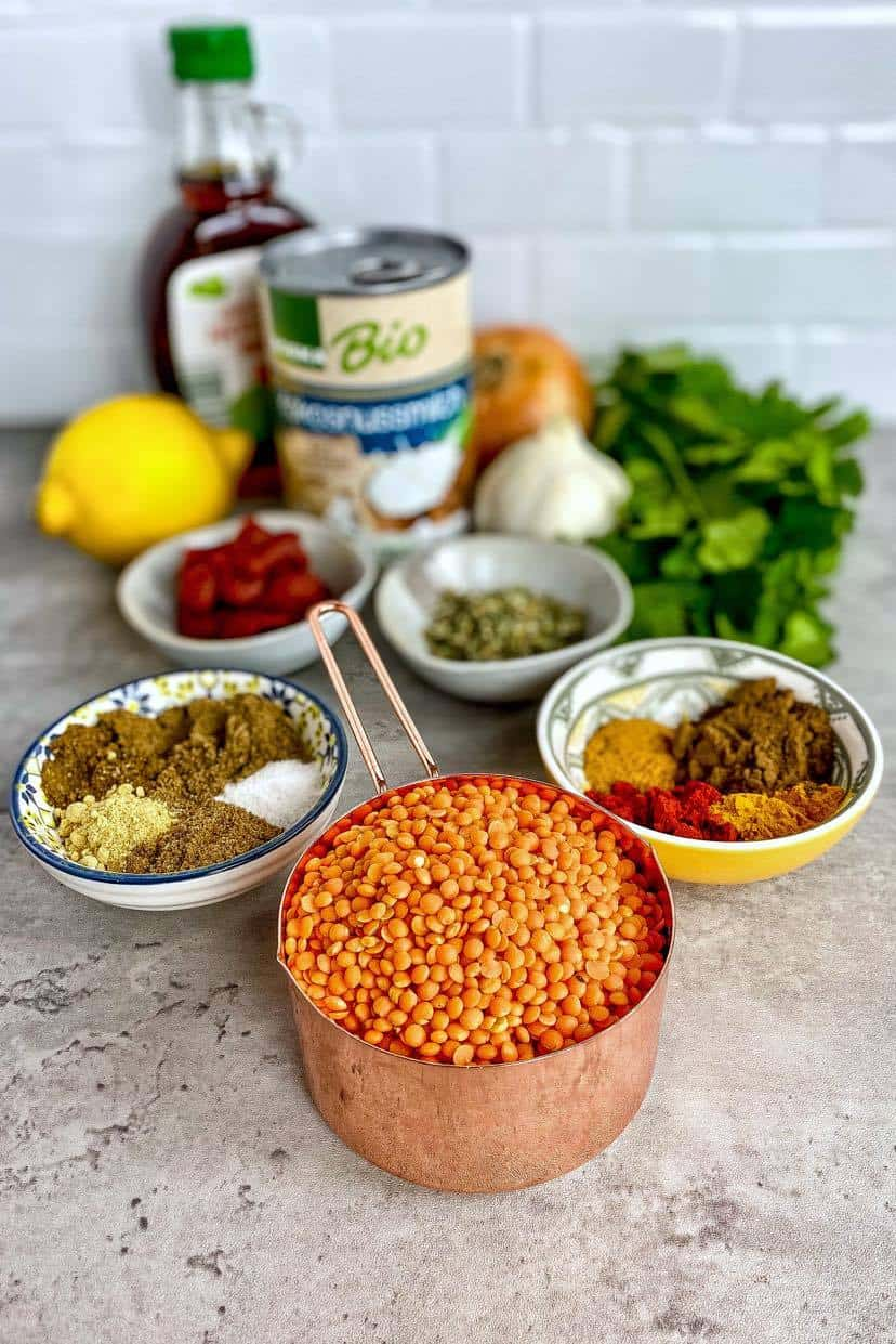 ingredients for best dahl recipe (dal recipe)