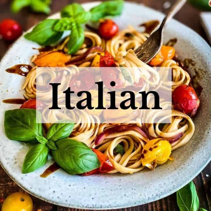 Vegan Italian Recipes