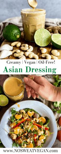 Asian Salad Dressing pin.