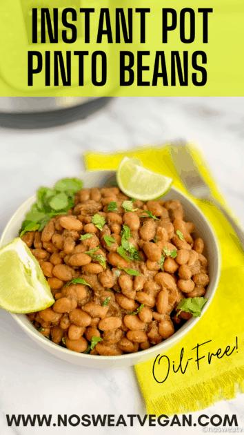 Instant Pot Pinto Beans pin.