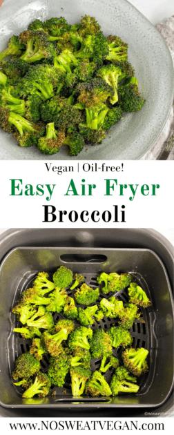Air fryer broccoli pin.