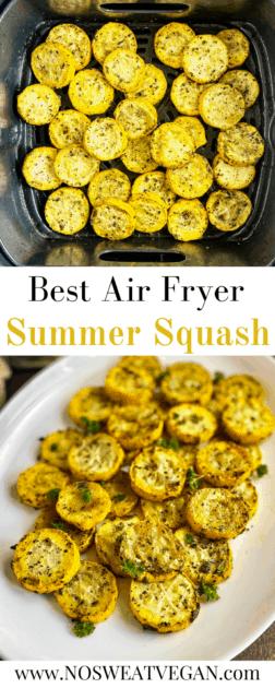 Air fryer summer squash pin.