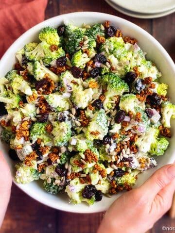 Best vegan broccoli salad.
