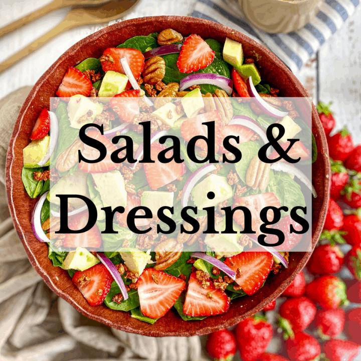 Vegan Salads & Salad Dressings