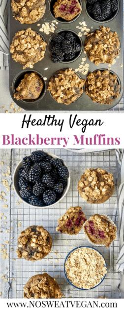 Vegan blackberry muffin pin.